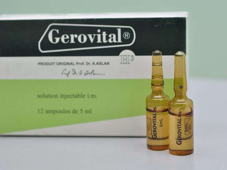 gerovital h3 antiaging cures authentic products made in